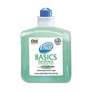 Basics Foaming Hand Soap Refill, 1000mL, Honeysuckle, Sold as 1 Each