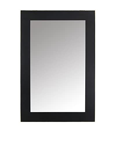 Oriental Espejo de Pared Negro