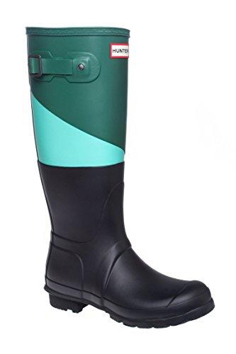 Original Asymmetrical Color Block Tall Rain Boot