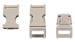"50 - 3/4"" Metal Contoured Side Release Buckles"