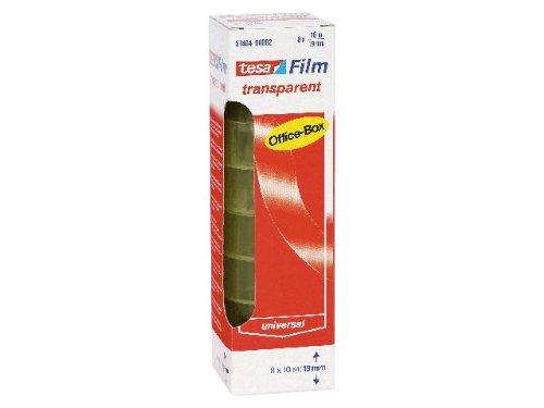 tesafilm transparent/57404-00002-02 10m:19mm 26mm Inh.8