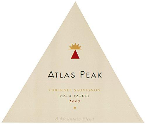2007 Atlas Peak Napa Valley Blend Cabernet Sauvignon 3.0L