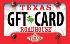 Kids Gift Cards Best Sellers: Texas Roadhouse License Plate Gift ...