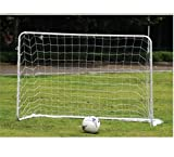 2 Soccer Goals, 25mm Steel Tubes. 6'x4' Each New. Goal