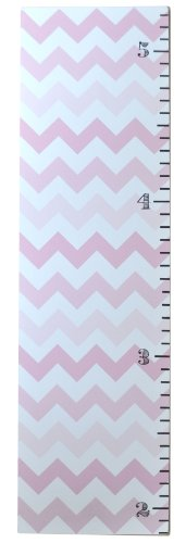 New Arrivals Chevron Growth Chart, Pink