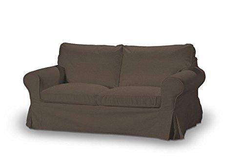 Dekoria-Ektorp-2-Sitzer-Schlafsofabezug-ALTES-Modell-braun
