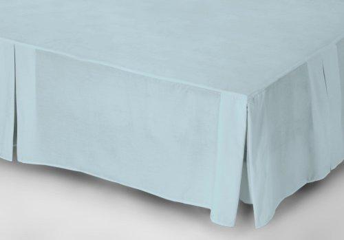 Belledorm mantovana in policotone 200 punti filo color azzurrino matrimoniale super king - Mantovana letto ...
