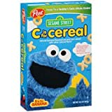Post Sesame Street C is for Cereal, 10.5 oz. (Pack of 6) (B is for Banana)