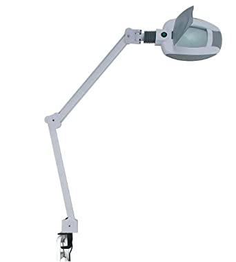 LED Magnifying Lamp - 3 diopter 6 inch diameter lens