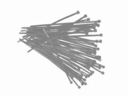 Câbles 2,5 x 102 mm (2000) gris