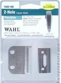 WAHL Professional 2 Hole Precision Clipper Blade (Model:1045-100)