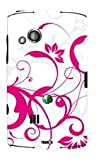 YOUNiiK Styling Skin Sticker Cover Sony Ericsson Xperia X10 mini pro - My Pink Wave