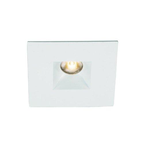 Wac Lighting Hr-Led251E-C-Wt Ledme 2.75-Inch Square Open Reflector Recessed Lighting, White Finish