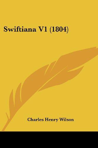 Swiftiana V1 (1804)