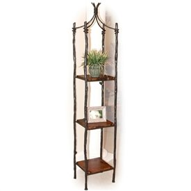 large south fork single wrought iron etagere decorative signs. Black Bedroom Furniture Sets. Home Design Ideas