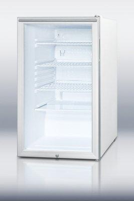 Summit Glass Door Refrigerator