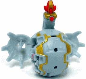 Bakugan New Vestroia Series 2 Bakuneon Luminoz [Grey] Nemus