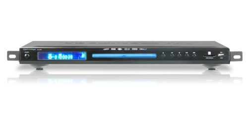 Review Technical Pro DV80.1 Single Disc Professional DJ DVD Player