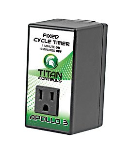 Titan Controls 702635 Apollo 3 Fixed Cycle Timer