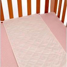 Koala Baby Pink Plush Sheet Saver (Pink)