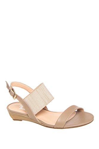 Alana Low Wedge Sandal