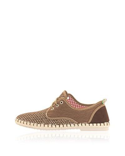 LIBERITAE Zapatos de cordones Combinados Marrón