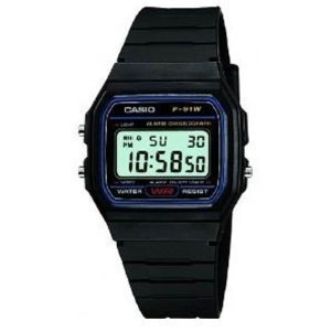Casio F91W-1YEF Classic Mens Casual Water Resistant Digital Wrist Watch