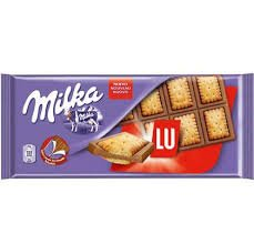 Milka & Lu Biscuits - Pack of 3 (Chocolate Biscuits compare prices)