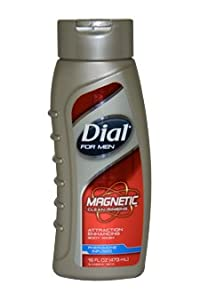 Magnetic Attraction Enhancing Body Wash Men by Dial 16 Ounce