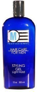 Salon Grafix M Professional Hair Care for Men Styling Gel Light Hold 12 Oz (2 Pack)