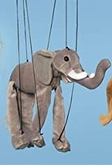 Sunny Puppets Elephant Marionette