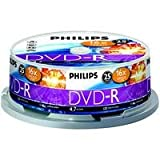 DVD-R Philips 4.7Go data 16x 25-spindle (DM4S6B25F/00)