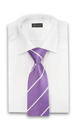 Cravate de Fabio Farini en pourpre