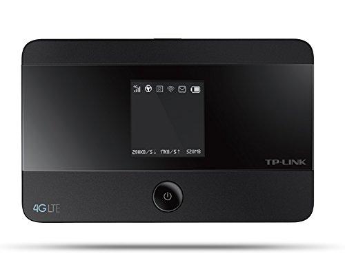 TP-Link M7350 Pocket Hotspot 4G LTE, Wi-Fi Dual Band, SIM e Micro SD Card Slot, Nero