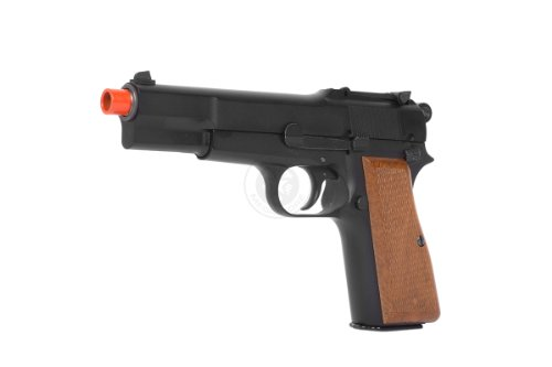 Discount WE Tech Full Metal Browning M1935 Hi-Power Gas Blowback Pistol