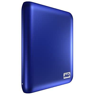 WD My Passport Essential SE 1 TB Metallic Blue Portable Hard Drive (USB 3.0/2.0) by Western Digital