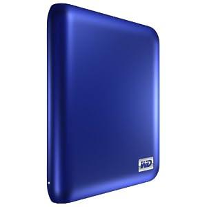 "Western Digital My Passport Essential SE - Disco duro externo (1 TB, 2,5"", USB 3.0 / USB 2.0), color azul"