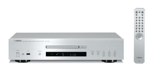 CD-S 700 Natural Sound HiFi CD-Player USB MP3 WMA silber