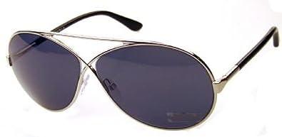 Tom Ford Georgette Tf154 Silver Blue Avio Sunglasses