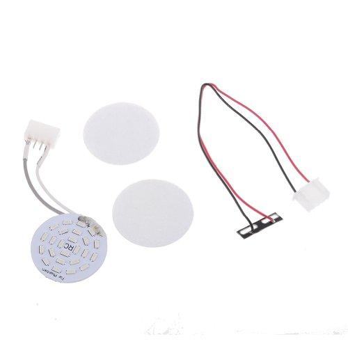Neewer Decorative 24 Led Bright White Head Light With Magic Tape Power Cable For Dji Phantom 2 Vision Quadcopter (Blue)