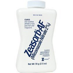 Zeasorb AF Super Absorbent Antifungal Powder 2.5 oz (70.9 g)