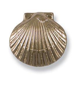 Michael Healy Designs MHR06 Bay Scallop Doorbell Ringer, Brass