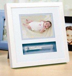 Pearhead Baby Bracelet Frame White