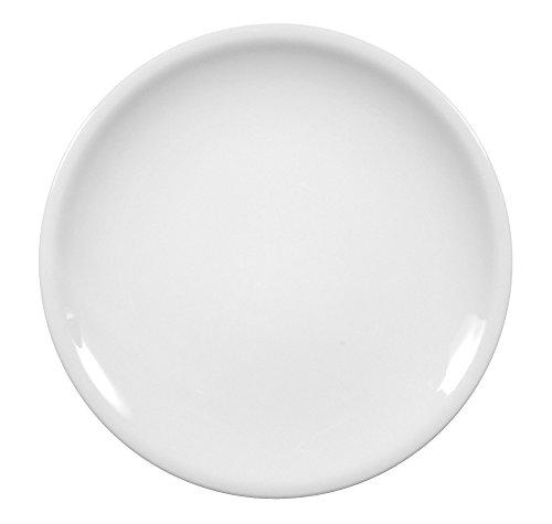 Plat à gâteau ronde 27 cm blanc uni compact 00007 drapeau de la marque seltmann weiden
