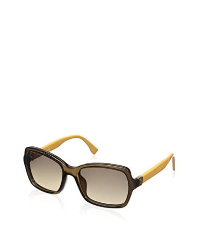 Fendi Women's 0007/S Sunglasses, Transparent Brown