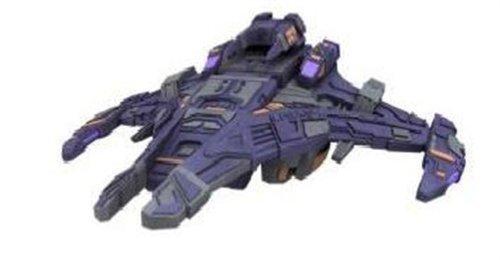 Dominion 4th Division Battleship Star Trek Attack Wing Miniature WizKids