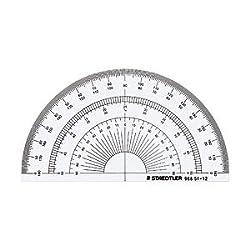 ステッドラー 半円分度器(12cm)96851-12