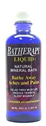 Queen Helene Batherapy Lavender Liquid 16 oz. (3-Pack) with Free Nail File
