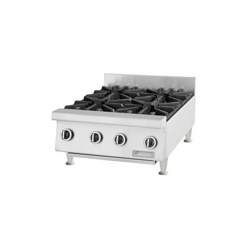 "Garland Gtog36-6 Commercial Gas Hot Plate - 6 Burners, 35-7/16""W front-628926"