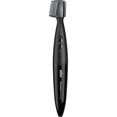 Braun Precision Trimmer PT5010, Men's Precision Beard, Ear & Nose, Mustache detailer, styler (Braun Electric Beard Trimmer compare prices)